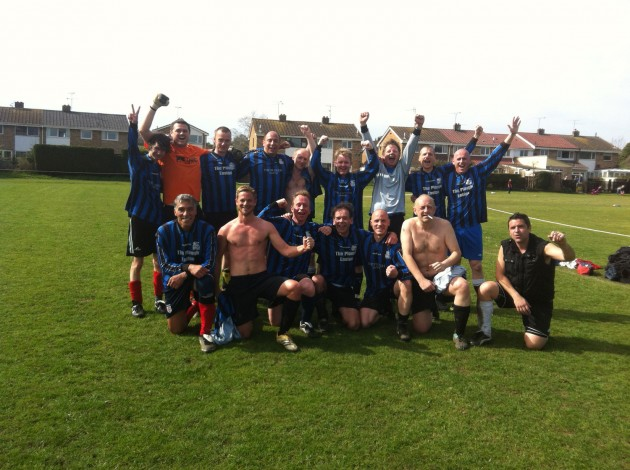 The Ultra Casuals After Their First Win