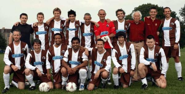 The Saturday A Team 2008/09