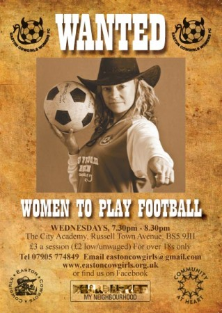 Easton Cowgirls Wanted Poster