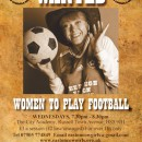 Women Football Players Wanted In Bristol