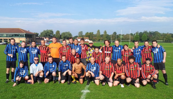 Casuals Vrs Ultra Casuals Team Photo