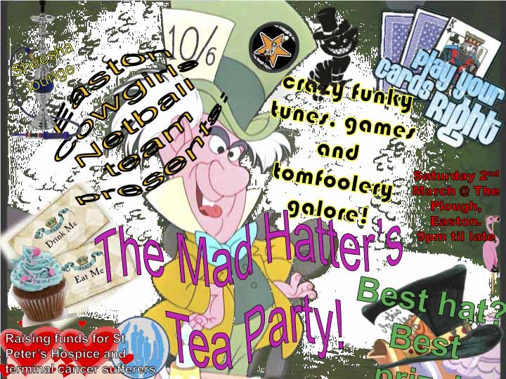 Mad Hatter'sTea Party
