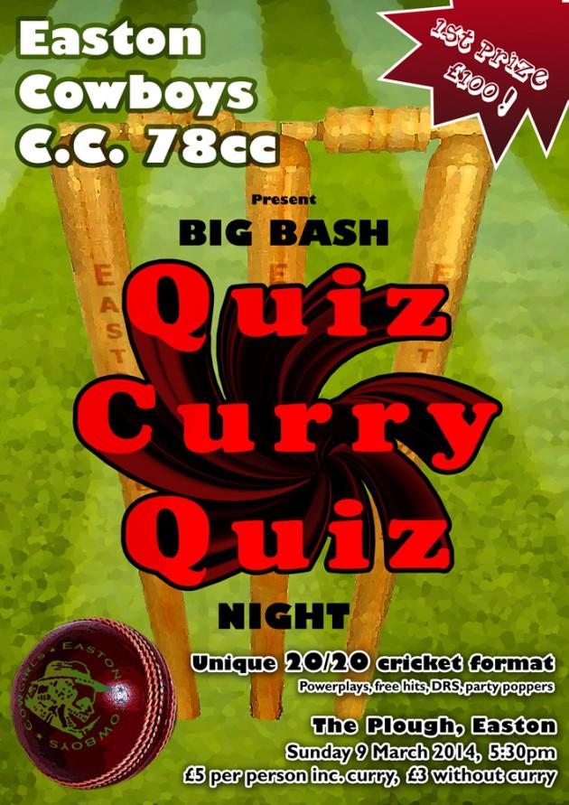 78cc Quiz Poster