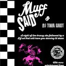Tournament fundraiser: Muff Said + DJ Tina Hart