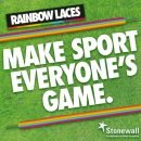 Cowgirls are proudly donning their rainbow laces